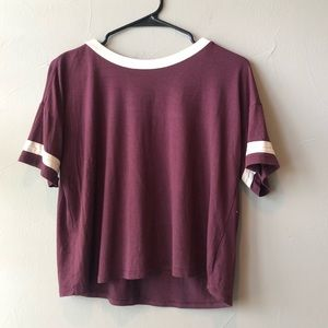 Pacsun maroon top!